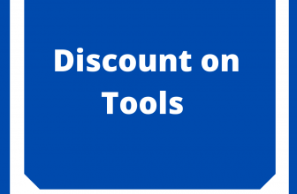 discount on tools