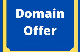 domain offers- discount for deals