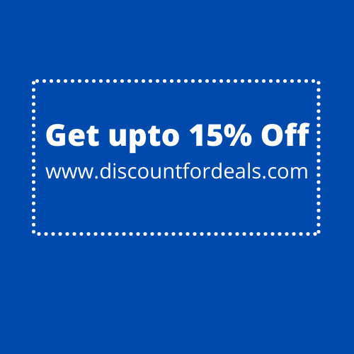 Get 15% off on INR 1500 or above