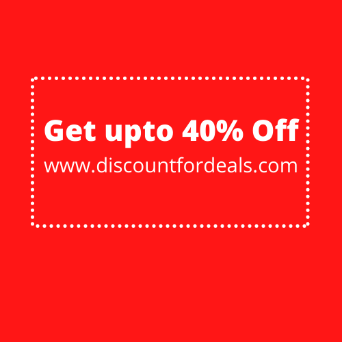 40% off upto Rs. 90, mov Rs. 199