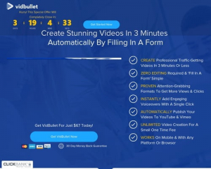 Vidbullet | Up To $500 A Sale | 75% Commissions
